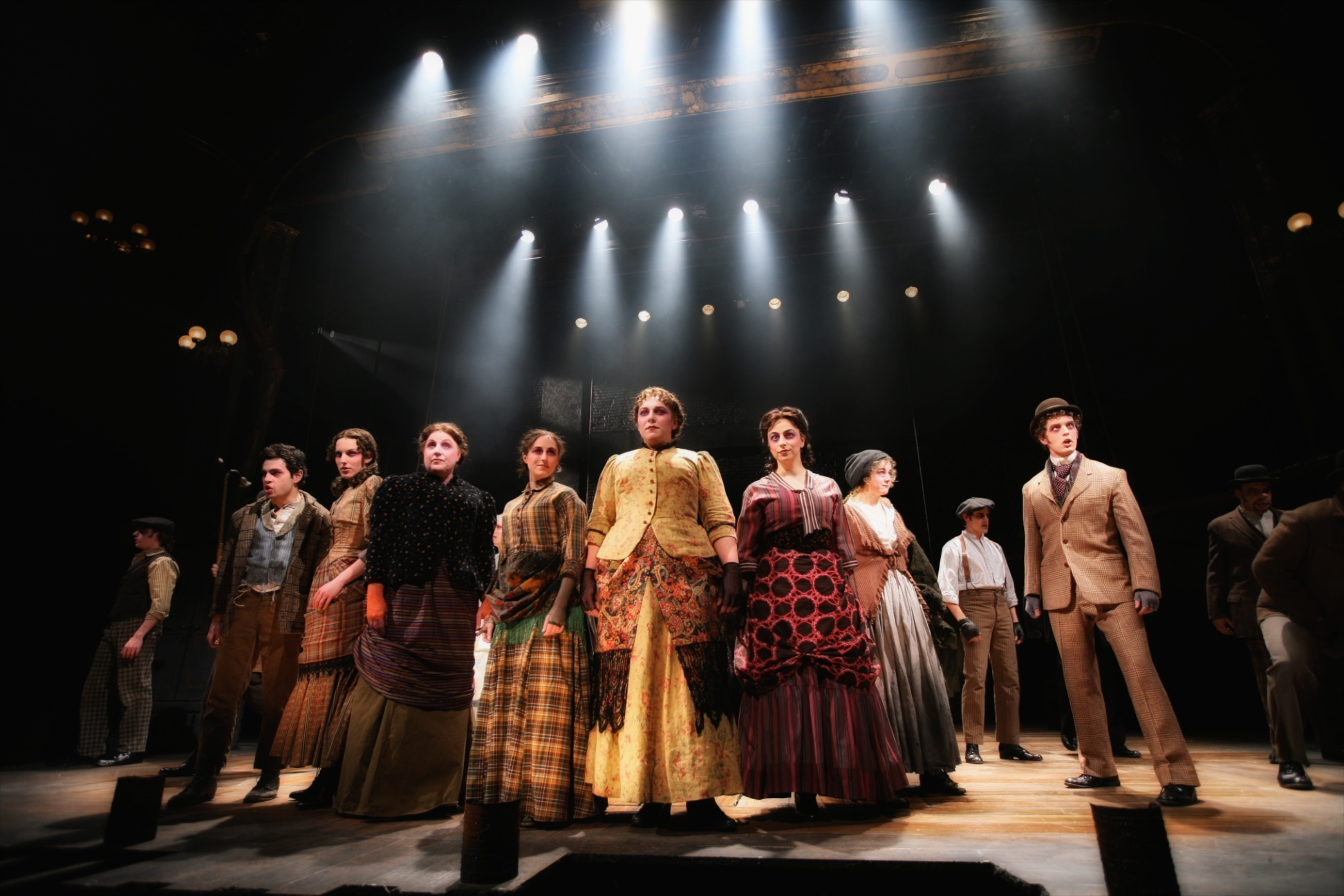 Sweeney Todd Group with Dramatic Lighting