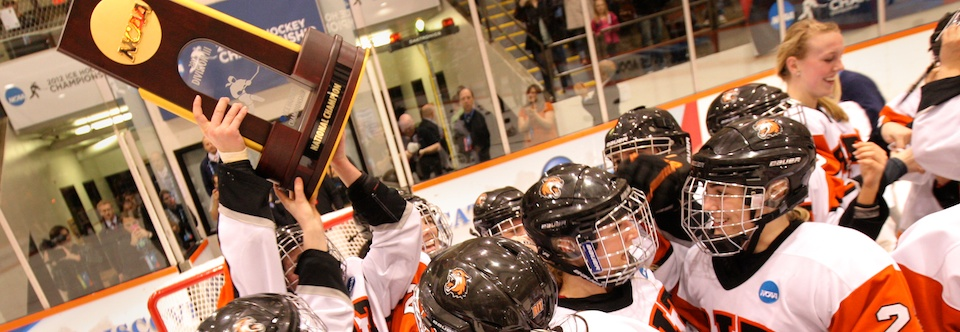 NCAA: RIT Women's Hockey Title