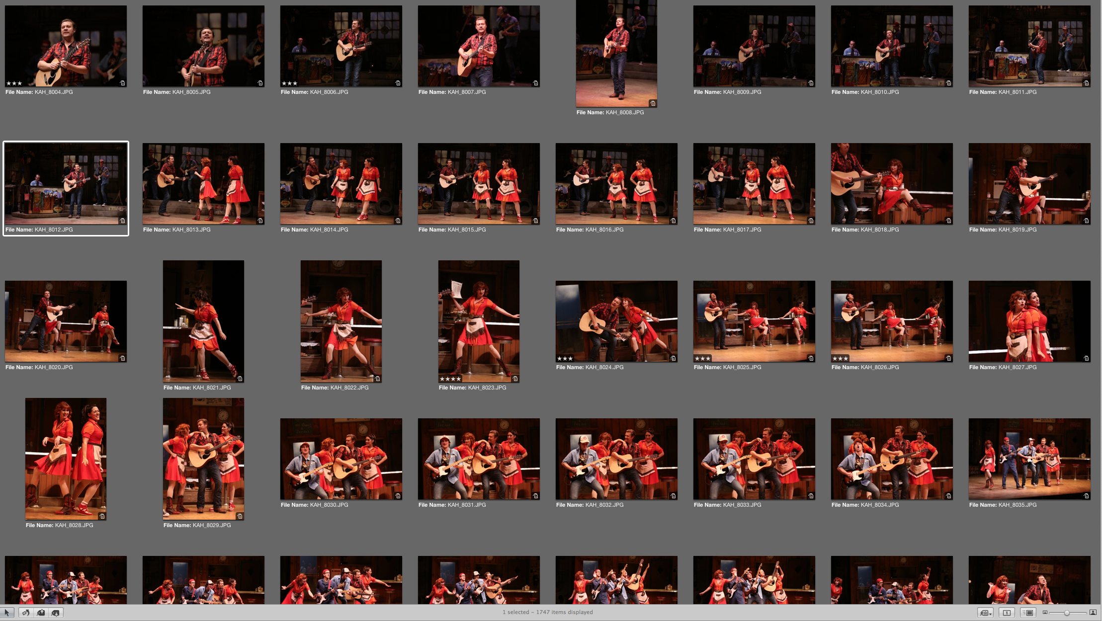 Editing 1700 Photos for Geva Theatre