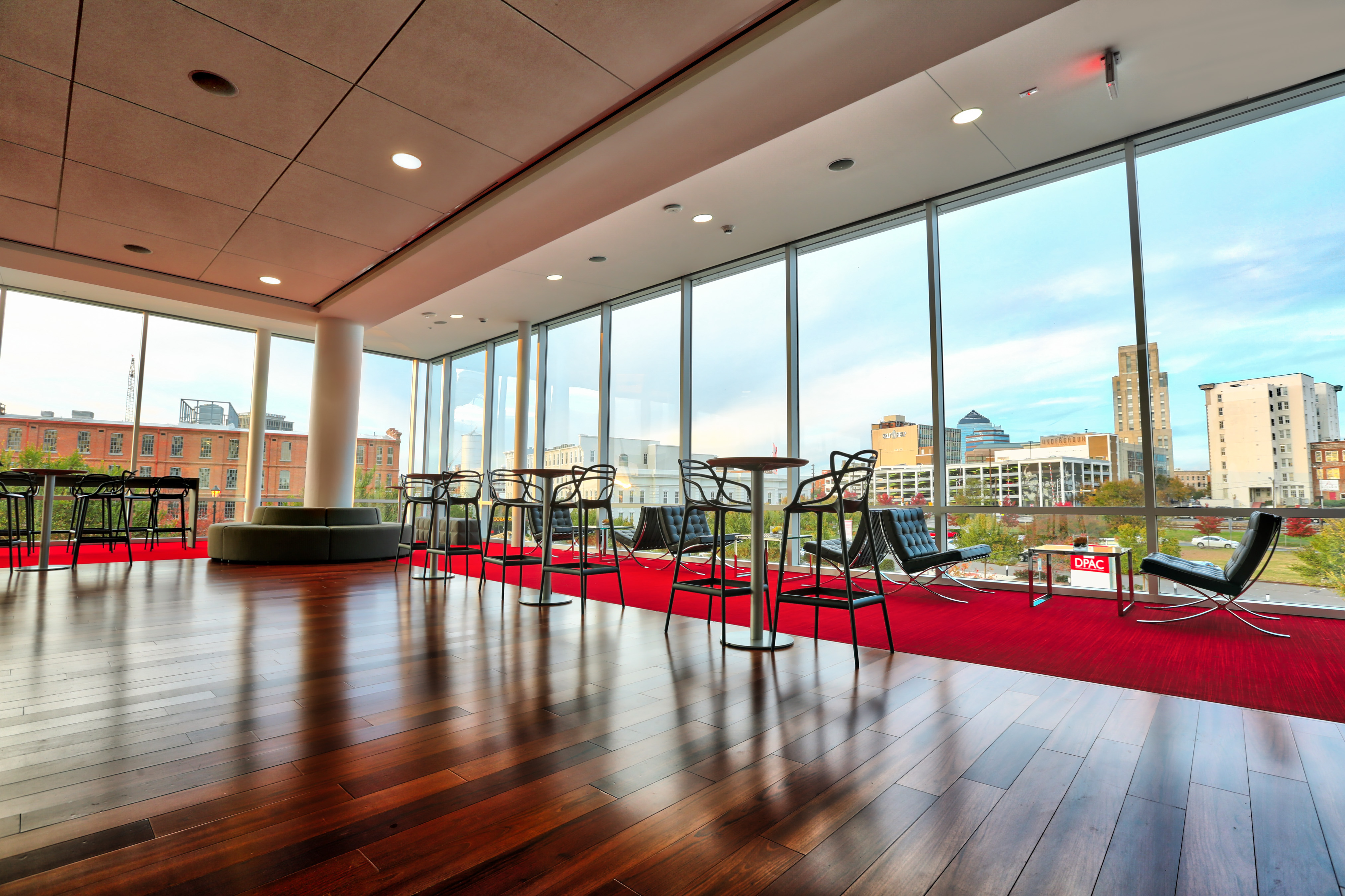 view of DPAC President's Club