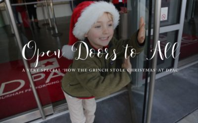 DPAC'S How the Grinch Stole Christmas Sensory-Friendly Performance