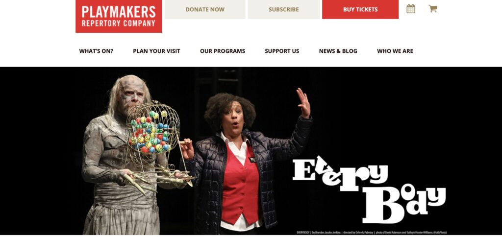 Everybody | PlayMakers Repertory Company
