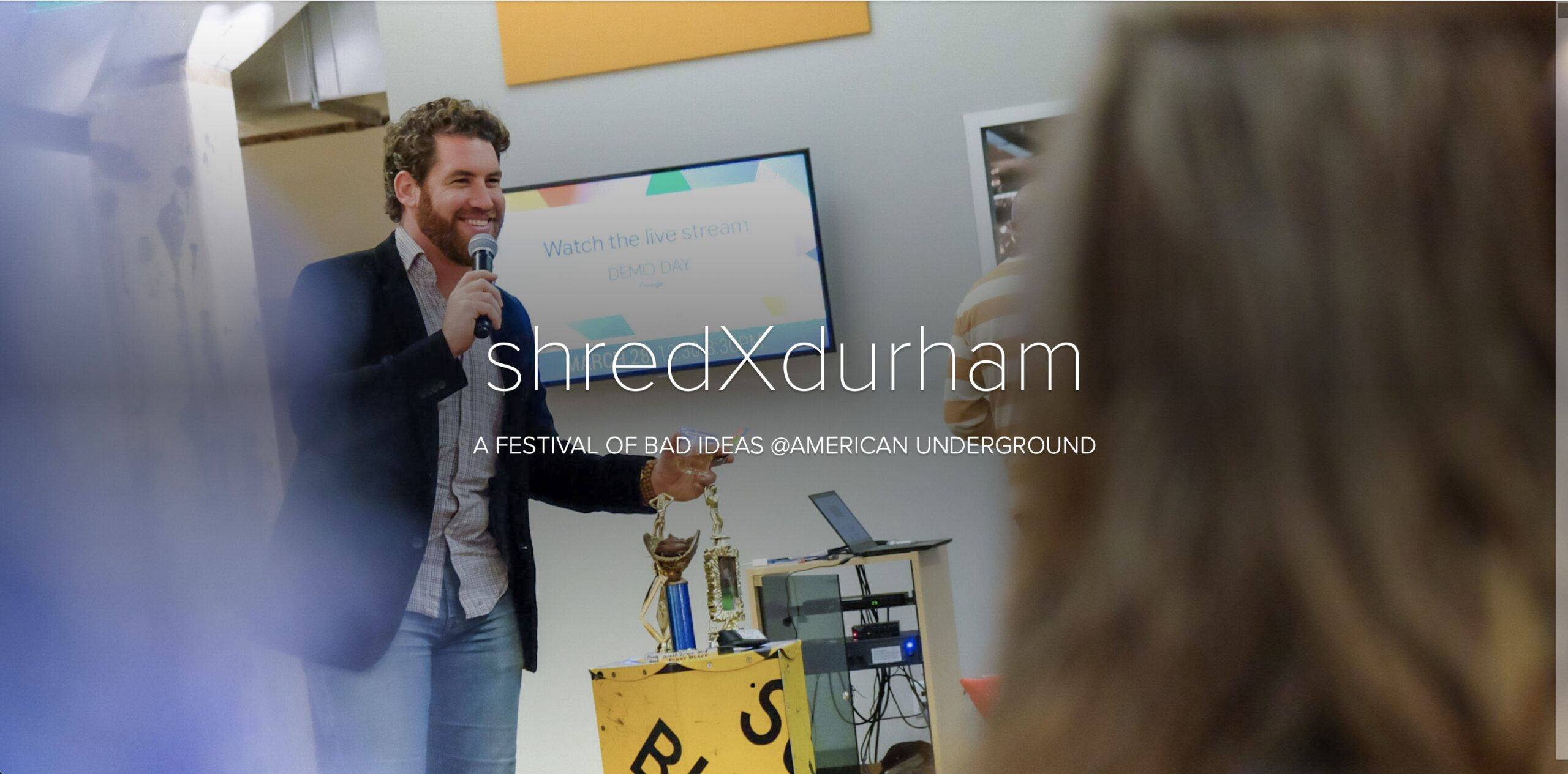 "cover of a digital publication with ""ShredX Durham"" on the cover"